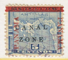 CANAL  ZONE  12  (o) - Canal Zone