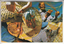 AFRIQUE AFRICA - SWAZILAND : Traditional Handicrafts ( Artisanat Traditionnel )- CPSM CPM GF - - Swaziland