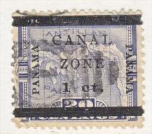 CANAL  ZONE  16 B  Type C   (o) - Canal Zone