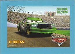 "DISNEY - PIXAR - CHICK HIKS "" O TRETAS "" - CARROS - CARS - Portuguese Edition - Portugal - 2 SCANS - Publicité"