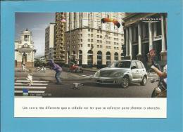 CHRYSLER - PT CRUISER - PUBLICIDADE - Advertising - 2 SCANS - Pubblicitari