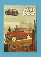 FIAT 600  - Seicento - PUBLICIDADE - Advertising - Portugal - 2 SCANS - Pubblicitari