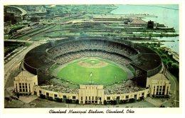 4552 OH Cleveland  1964 Baseball Municipal Stadium