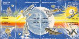 U.S. 1912-19 **  SPACE - United States