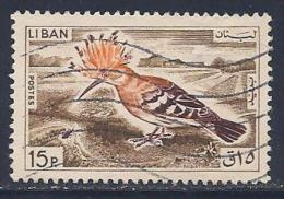 Lebanon, Scott # 436 Used Bird, 1965 - Lebanon