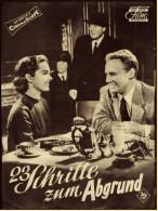 """Das Neue Film-Programm Von Ca. 1950  -  """"23 Schritte Zum Abgrund""""  -  Mit Van Johnson , Vera Miles - Magazines"""