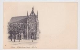 ORLEANS - N° 20 - L' EGLISE SAINT AIGNAN - Orleans