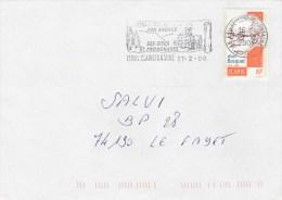 YT 3462 SEUL SUR LETTRE ETIVAL CLAIREFONTAINE 27/2/08 POUR LE FAYET - Marcophilie (Lettres)