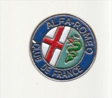 Pin´s  -  ALFA ROMEO  - CLUB DE FRANCE - Alfa Romeo