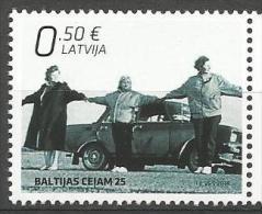 LV 2014 JOINT ISSUES, LATVIA,1 X 1v, MNH - Gemeinschaftsausgaben