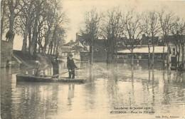 21 AUXONNE - Place De L'Illiotte - Inondations De Janvier 1910 - Auxonne