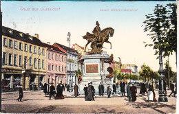GERMANIA - SOUVENIR Grus Aus Hamburg, Animata,  Viagg. 1899 Fran. Caduto - OTT-04-41 - Saluti Da.../ Gruss Aus...