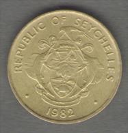 SEYCHELLES 10 CENTS 1982 - Seychelles