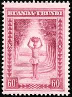 Ruanda 0097** 60c  - Scenes indig�nes MNH ----------> x8