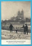 C.P.M.  Magdeburg - Ein Frohes  Weihnachtsfest ....  Und Neues Jahr - Magdeburg