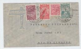 Brazil AIRMAIL COVER 1933 - Brazil