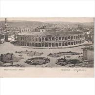 ITLATP1322C-LFTD3142TEVSC.TARJETA POSTAL DE ITALIA.El Anfiteatro De VERONA,jardines. - Eventos