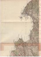 CARTE - TOPOGRAPHIQUE - LA CIOTAT - LA CADIERE - SAINT CYR - BANDOL. - Cartes Topographiques