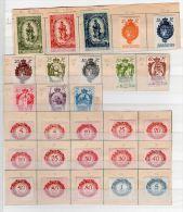 Liechtenstein, Petite Collection Selon Scan, YT  40-42 Sans Gomme, La Restre Neuf *, Lot 42315 - Liechtenstein
