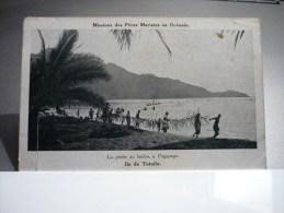 La Pêche Au Lauloa à Pagopago Iles De Tutuila - Samoa Américaine