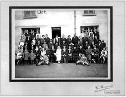 Viels Maisons Aisne Mariage Devant Maison Guidet Env.1925  état Superbe - Frankrijk