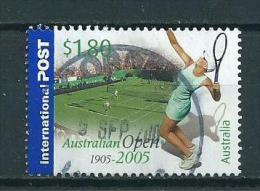 2005 Australia $1,80 Australian Open,tennis Used/gebruikt/oblitere - 2000-09 Elizabeth II