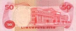 PHILIPPINES P. 156a 50 P 1970 UNC - Filippine