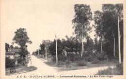 CPA 95 SAINT OUEN L'AUMONE LOTISSEMENT MAUBUISSON RUE VICTOR HUGO (cliché Pas Courant - Saint-Ouen-l'Aumône