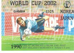 GRENADA FOGLIETTO  2002 WORLD CUP SOCCER  SHEET MNH - Wereldkampioenschap