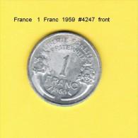 FRANCE   1  FRANC  1959 (KM # 885a.1) - France
