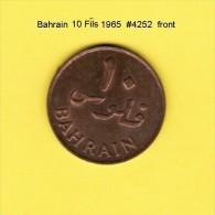 BAHRAIN   10  FILS  1965  (KM # 3) - Bahreïn