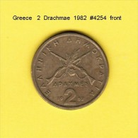GREECE  2  DRACHMAE  1982  (KM # 130) - Griechenland