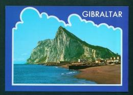 GIBRALTAR  -  North East View  Unused Postcard As Scans - Gibraltar