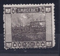 Saar1921: Michel 60A Mnh** - Unused Stamps