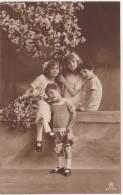 Cp Photo Ref 4177/4  Groupes D'enfants Tbe  (circulé En 1913) - Groupes D'enfants & Familles