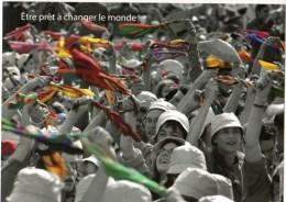 C P M------SCOUTS-GUIDES DE FRANCE----série De 5 Cartes -----voir 6 Scans - Scoutisme
