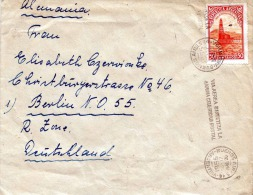 LP-Brief ARGENTINIEN 1955 - 50 Centavos Auf Brief Gel.v. Buenes Aires N. Berlin Russische Zone - Argentinien