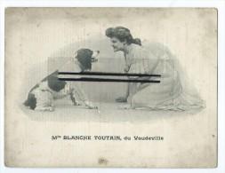 Présentation  Théâtre Français De Rouen - 1903- Melle Blanche TOUTAIN Du Vaudeville - Rouen