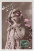 ENFANT-CHILDREN- KINDER - LITTLE GIRL - FILLETTE Avec Fleurs - Portraits