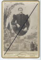Photo Militaire Collée Sur Carton- Photographie De Le Porte St Martin - Louis- PARIS - Non Classificati