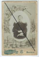 Photo Militaire Collée Sur Carton- Aux Armes De Montmédy Photographie Lorraine -J.Leclerc - Photographs