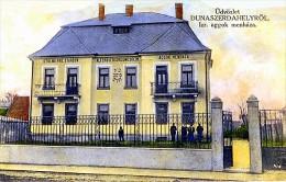 Slowakei, Dunajská Streda-1914, židovský Starobinec-Heim Jüdischen Alte Menschen, Judaica, Reproduction, - Slowakei