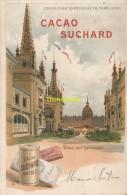 CPA LITHO PUBLICITE CHOCOLAT SUCHARD EXPOSITION UNIVERSELLE DE PARIS 1900 DOME DES INVALIDES - Expositions