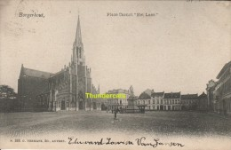 CPA BORGERHOUT PLACE CARNOT HET LAER EDIT HERMANS - Autres