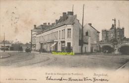 CPA BORGERHOUT VUE DE LA CHAUSSEE DE TURNHOUT EDIT HERMANS - Belgium