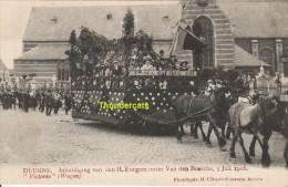 CPA DEURNE INHULDIGING VAN DE H BURGEMEESTER VAN DEN BOSSCHE 5 JULI 1908 EDIT H CLIMAN RUYSSERS ANVERS - Autres