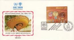 FDC IYC 1979 Mexico - Mexico