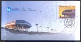 België - 2009 - Antarctica - Uniek Zuidpoolsouvenir, Afgestempeld Op De Prinses Elisabethbasis. - Unclassified
