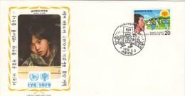 FDC IYC 1979 Korea - Mexico