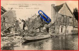 CPA  JUVIGNY (Marne) Les Inondations Dans La Marne - Janvier 1910 - Quartier Saint-Martin - Maison E. GIROT - Non Classés